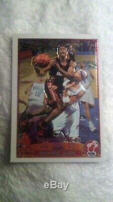 2004 Chrome Dwayne Topps Wade Rookiecard Est En Excellent Shapesee Pics