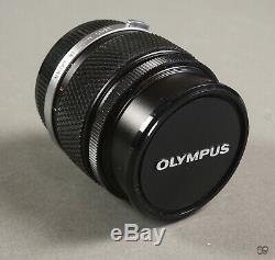 85mm Olympus Om Zuiko Lentille Auto-t. F12 Excellent État +. Bouchons D'origine