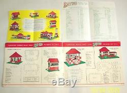 A Vintage, Original 1959 Bayko Construction Jeu N ° 0 Coffret, En Excellent Etat