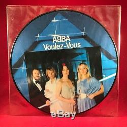 Abba Voulez-vous 1979 D'origine Disque Vinyle Image Uk Lp Condition Excellente