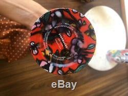Acier Inoxydable Starbucks Rouge Verre Floral Coquelicot 24 Oz Excellent État