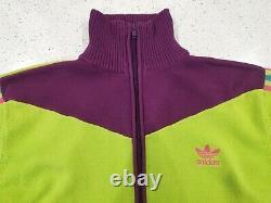 Adidas Originals Vintage Retro Track Jacket 3 Stripe Rare Excellent Condition