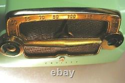 All Original 1953 Crosley E15 Ce Rare Chartreuse Color Excellent État