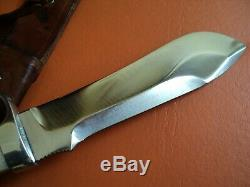 Antique Couteau Chasseur Blanc N ° 6377 Pumas 49571 Excellent État D'origine Germa