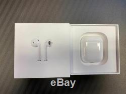 Apple D'origine Airpod 2ème Génération Et Charge Case-blanc-excellent État