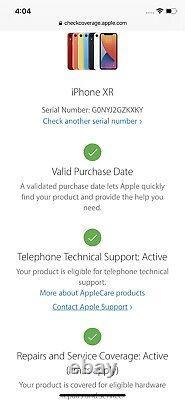 Apple Iphone Xr 128 Go Blanc (déverrouillé) Mint Condition Original Box
