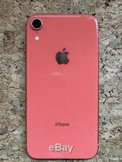 Apple Iphone Xr 64gb Coral Excellent État Avec Tous Les Emballages D'origine