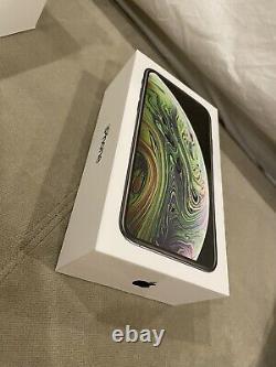 Apple Iphone Xs Space Gray 256 Go Déverrouillé Emballage D'origine Excellent État