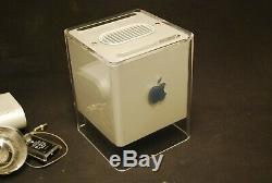 Apple Powermac G4 Cube Avec Boîte Originale Très Complete Excellent État