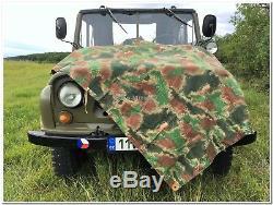 Armée Originale Tchécoslovaquie Toile Abri 1952 Très Rare Excellente Condition