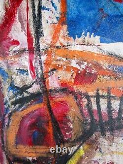 Art Cubain, Original, Format Médiocre, Médias Mixtes, Excellentes Conditions