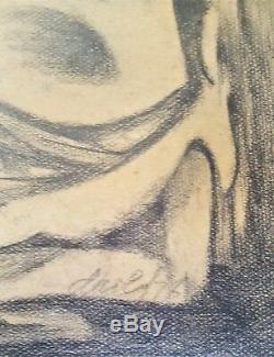 Art Cubain. Peinture Par Juan David. Imbestida, 1978. Excellent État. Original