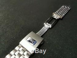 Authentique Aviateur Iwc 3777 21mm Bracelet En Acier Inoxydable En Excellent État