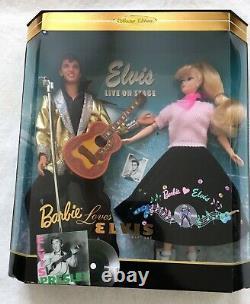 Barbie Matinee Aujourd'hui / Barbie Aime Elvis Beaucoup Nouveau Excellent Condition