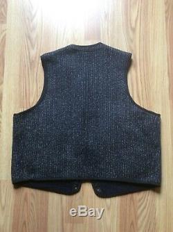 Browns Original Vintage Plage Tissu Vest Taille 44, Excellent Etat