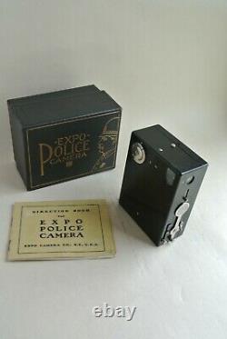Caméra Police Expo Avec Le Manuel Et La Boîte Originale Excellent État, Rare