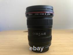 Canon Ef 17-40mm F/4l Usm Lens Boîte Originale Excellent Condition