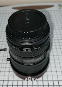 Canon Ef F / 4.0l Usm Objectif -excellente Condition, Zoom, Boîte D'origine