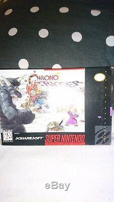 Chrono Trigger Snes Original Ntsc Boxed En Excellent État