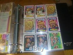 Complete Garbage Originale -usa- Pail Kids Series 2 Jusqu'à 15 A Excellente Condition