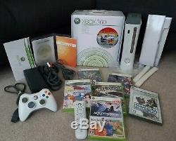 Console Xbox 360 D'origine Japonaise Complète Excellent État Avec 7 De Game