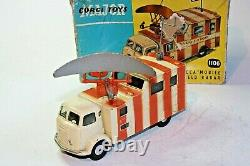 Corgi 1106 Decca Radar Van, Excellent État Dans La Boîte D'origine