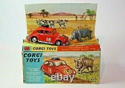 Corgi 256 Vw East African Safari En Excellent État Dans La Boîte D'origine