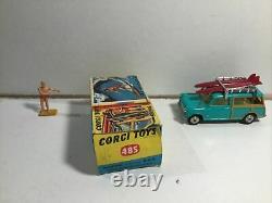 Corgi 485 Surf Bmc Mini Countryman Excellent État Dans La Boîte D'origine
