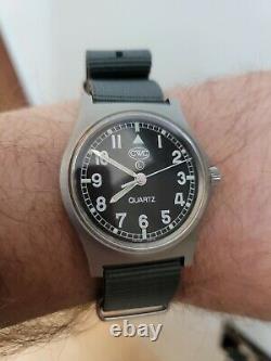 Cwc G10 Nato Watch Box Papers Original Strap Excellent État
