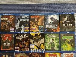 DC Universe Animated Original Movies Blu Ray Collection Excellent État
