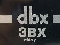 Dbx 3bx 3 Band Dynamic Range Expander Dans La Boîte Originale Excellent État Bois