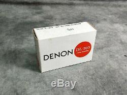 Denon Dl-103 MC Cartouche Avec L Boîte D'origine En Excellent État