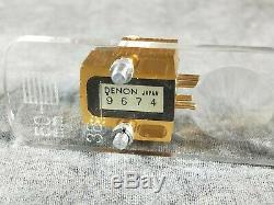 Denon Dl-304 Cartouche À Bobine Mobile Avec La Boîte D'origine En Excellent État