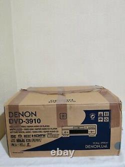 Denon Dvd-3910 Lecteur DVD Silver Excellent Condition Original Box