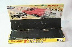 Dinky 100 Lady Penelope Fab 1, Excellente Condition En 1ère Edition Originale Box