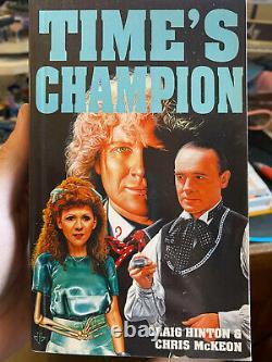 Doctor Who Time's Champion V Rare Épuisé Excellent État Hinton/mckeon