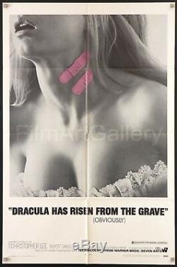 Dracula Et Les Femmes 1969 U. S. 1sh Excellent État D'horreur Hammer
