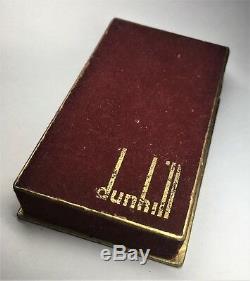 Dunhill Slim Briquet, Excellent État De Fonctionnement Avec Boîte D'origine