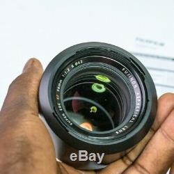 Excellent Etat Fujinon Xf 56mm F1.2 R Lens En Original Box, Et Capot Cap