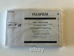 Fuji X-t2 Black Excellent Condition, Avec Boîte Originale Et Accessoires