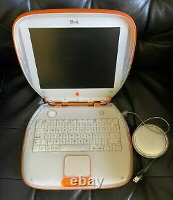 G3 Ibook Clamshell Tangerine, Propriétaire Original, Excellent État De Fonctionnement