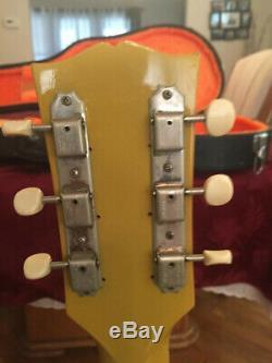 Gibson Les Paul Jr USA 1990 Cas Excellent État D'origine 1250 $