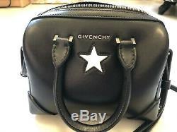 Givenchy Lucrezia Micro Sac À Bandoulière Veau Noir Original Excellent État