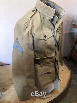 Guerre Hispano-américaine D'infanterie Manteau D'origine Excellent Etat
