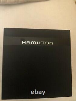 Hamilton Mens Watch En Kaki Champ Boîte D'origine. Condition Excellente
