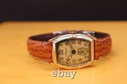 Hamilton Wristwatch Vintage 1931 Perry Art Deco Original Excellent État