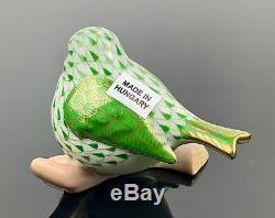 Herend Résille Little Bird Holly Nib Magnifiques Et Excellent État