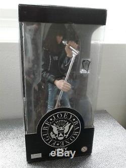 Joey Ramone Rare 12 Figure, Avec Lunettes De Soleil Et Mic, Jo 2003, Excellentes Conditions