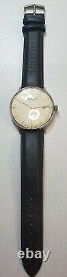 Junkers Bauhaus 6050-5 Cream Pilot Watchexcellent Conditiondiscontinued Modèle