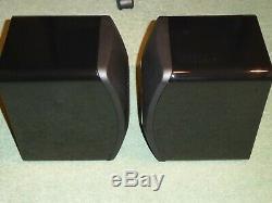 Kef Ls50 Ls 50 Haut-parleurs Haut-parleurs Excellent État Boîte Et Emballage D'origine